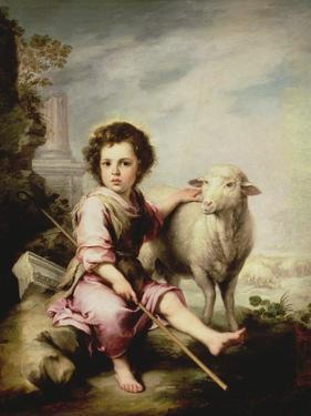 The Good Shepherd, circa 1650 by Bartolome Esteban Murillo