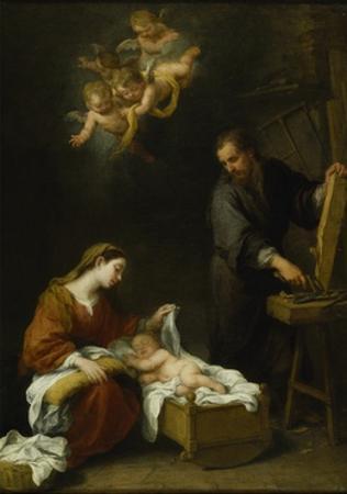 The Holy Family by Bartolome Esteban Murillo