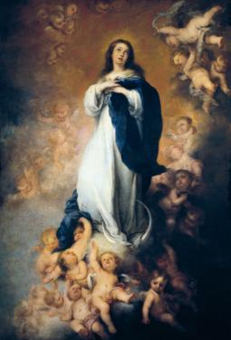 """The Immaculate Conception """"Of Soult"""" by Bartolome Esteban Murillo"""