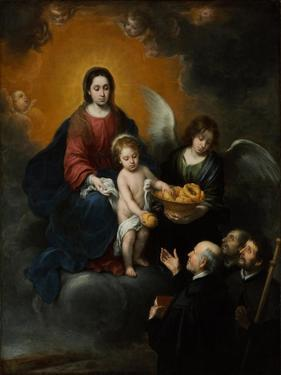 The Infant Christ Distributing Bread to the Pilgrims, 1678 by Bartolomé Estebàn Murillo