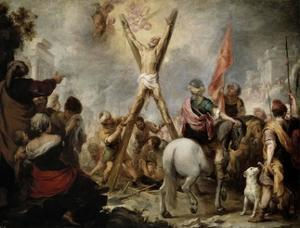 The Martyrdom of Saint Andrew, 1675-1682 by Bartolome Esteban Murillo