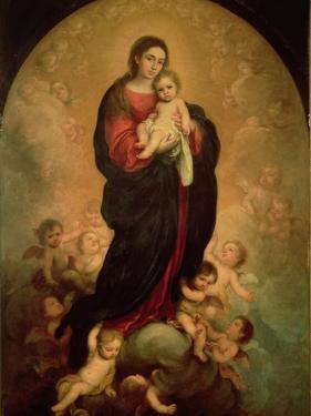 Virgin and Child in Glory, 1673 by Bartolome Esteban Murillo