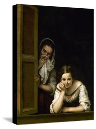Women from Galicia at the Window, 1655-1660 by Bartolome Esteban Murillo
