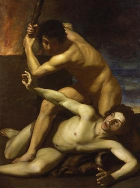 Cain Murdering Abel, about 1615 by Bartolomeo Manfredi