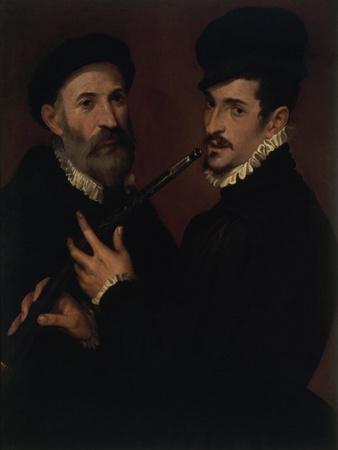 Double Portrait with a Cornet Player (Doppio Ritratto Con Suonatore Di Cornetto)