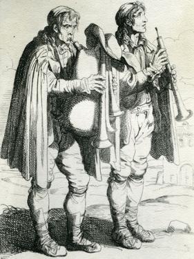 Li Pifferari, 1810 by Bartolomeo Pinelli