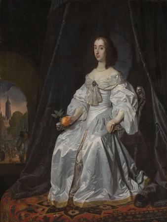 Mary Stuart, Princess of Orange, as Widow of William II, 1652