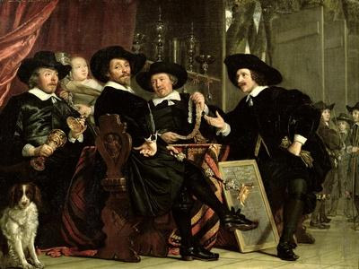 The Officials of the Company of Bowyers of St. Sebastian at Amsterdam, 1653