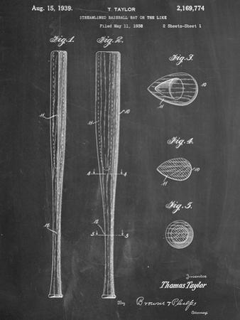 Baseball Bat Patent 1938