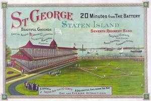 Baseball Field at St. George Park, Staten Island