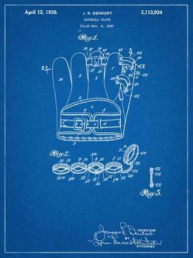 Baseball Glove Patent 1937