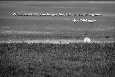 Baseball Joe DiMaggio Quote