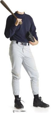 Baseball Player Lifesize Stand-In