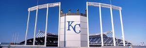 Baseball Stadium, Kauffman Stadium, Kansas City, Missouri, USA