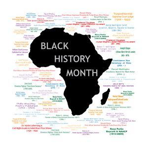 Black History Month Collage by BasheeraDesigns