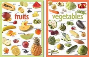Basic Fruits & Veg Poster Set - 2