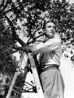 Basil Rathbone, c.1944