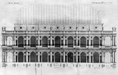 Basilica Palladiana at Vicenza, Designed by Andrea Palladio