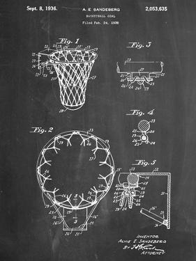 Basketball Goal Patent 1936