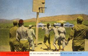 Basketball on Army Base, Salt Lake City, Utah