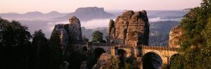 Bastei, Saxonian Switzerland National Park, Germany