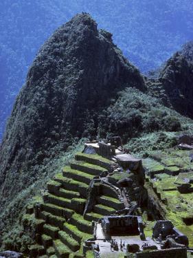 The Inca Ruins of Machu Picchu by Bates Littlehales