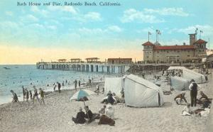 Bath House and Pier, Redondo Beach