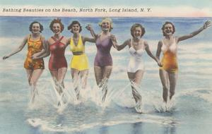 Bathing Beauties, North Fork, Long Island, New York