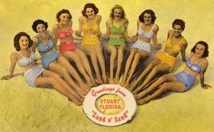 Bathing Beauties, Stuart, Florida