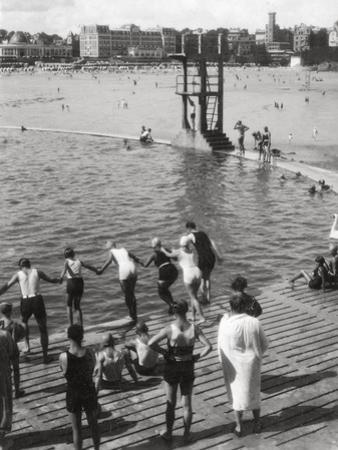 Bathing Pool, Dinard, Brittany, France, 20th Century