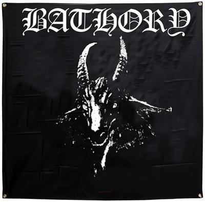 Bathory Goat Flag