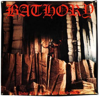 Bathory Under The Sign Of The Black Mark Flag