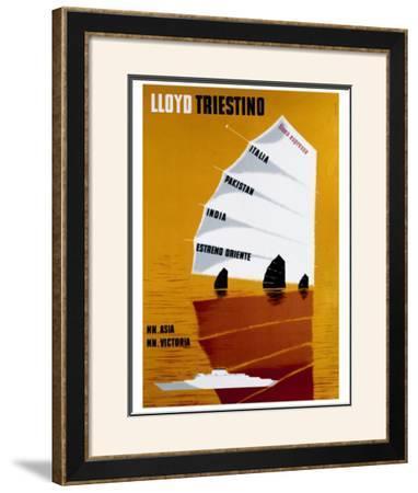 Lloyd Triestino by Batistella