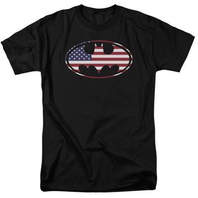 Batman - American Flag Oval