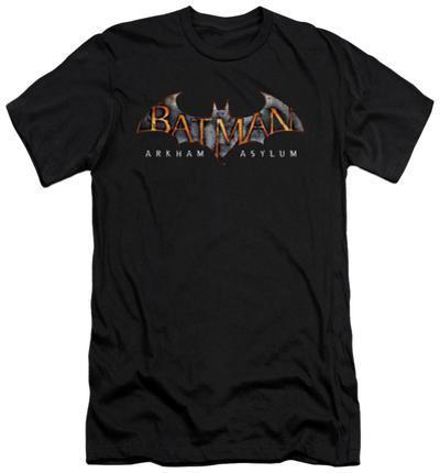 Batman Arkham Asylum - Arkham Asylum Logo (slim fit)