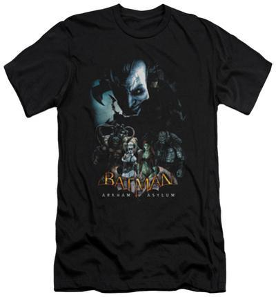 Batman Arkham Asylum - Five Against One (slim fit)