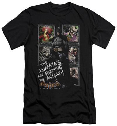 Batman Arkham Asylum - Running The Asylum (slim fit)