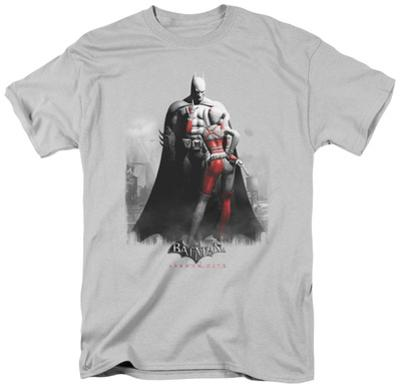 Batman Arkham City - Harley and Bats