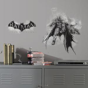 Batman Arkham Knight Darkness Wall Graphix Peel and Stick Giant Wall Decals