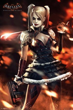 Batman Arkham Knight: Harley Quinn Fire