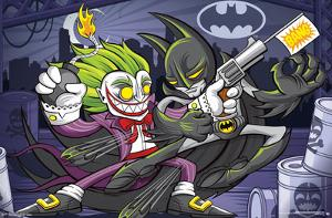 Batman- Batman & Joker Animated
