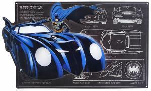 Batman Batmobile Schematic