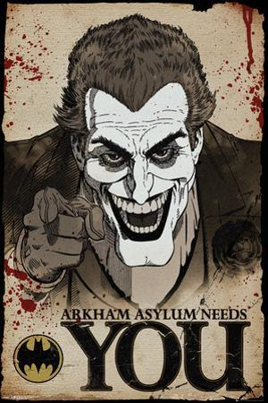 Batman Comic Joker Needs You