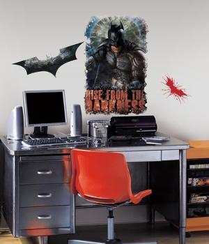 Batman - Dark Knight Rises - Darkness Giant Peel & Stick Wall Art