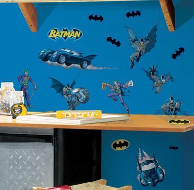 Batman - Gotham Guardian Peel & Stick Wall Decals
