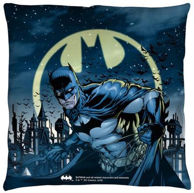 Batman - Heed The Call Throw Pillow