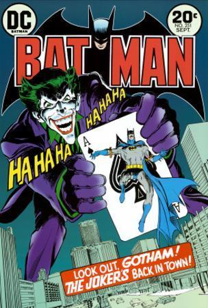 Batman Joker - Cover
