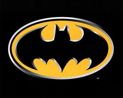 Batman Logo Art Poster Print
