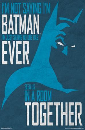 Batman - My Secret Identity?