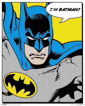 Batman comic posters at - Cuadros pop art comic ...